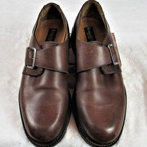 Kenneth Cole New York Leather Monk Strap O…
